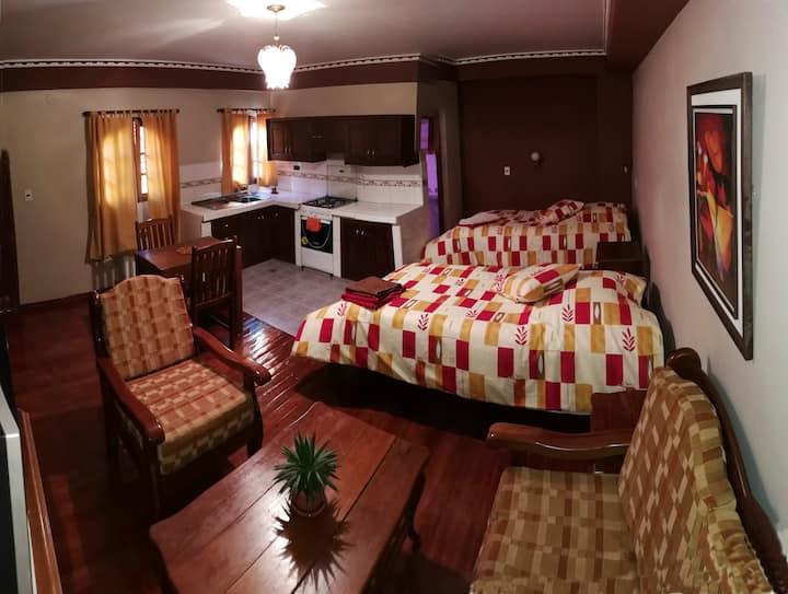 Garzonier baño privado, dos camas, wifi, Cab-Tv 14