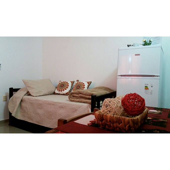 Habitacion con cama marinera