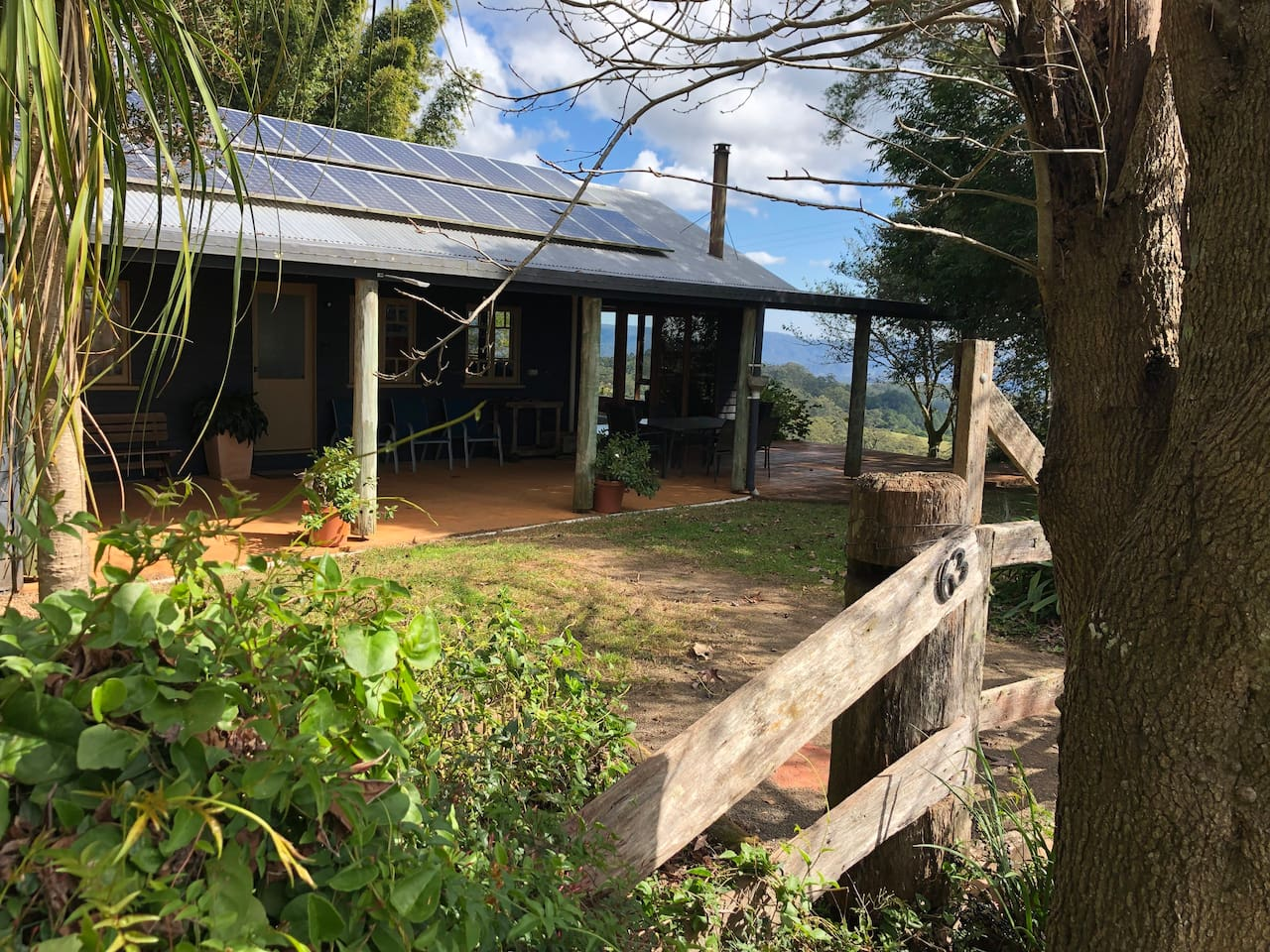 """Welcome to """"Top Cottage,"""" set in in 101 acres with magnificent views of our beautiful, undulating Sunshine coast  hinterland."""