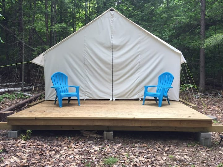 Wall Tent Camping