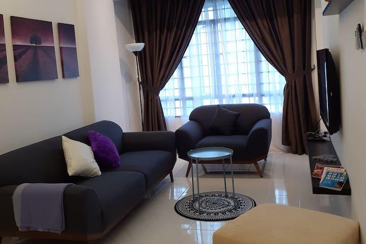 A nice, clean and renovated house at KIP Damansara