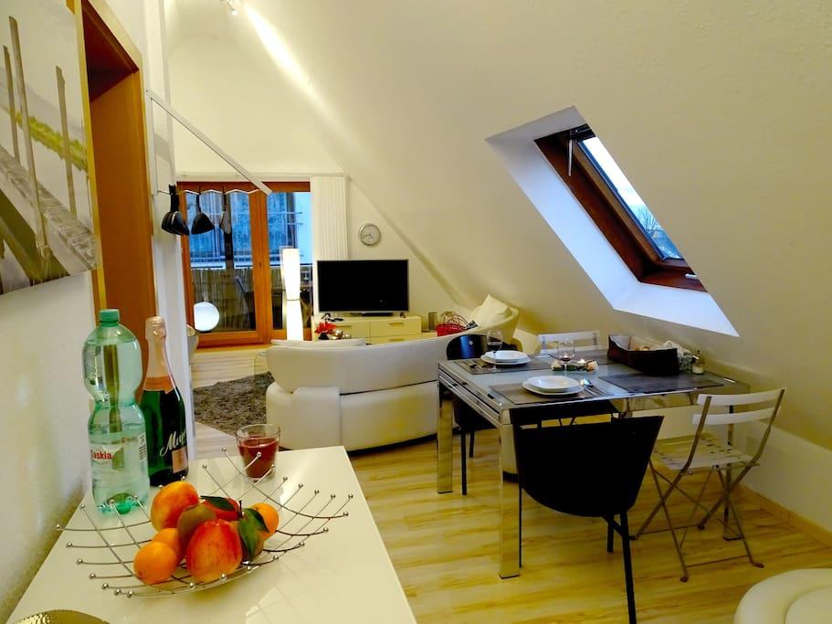 Studio-Wohnung