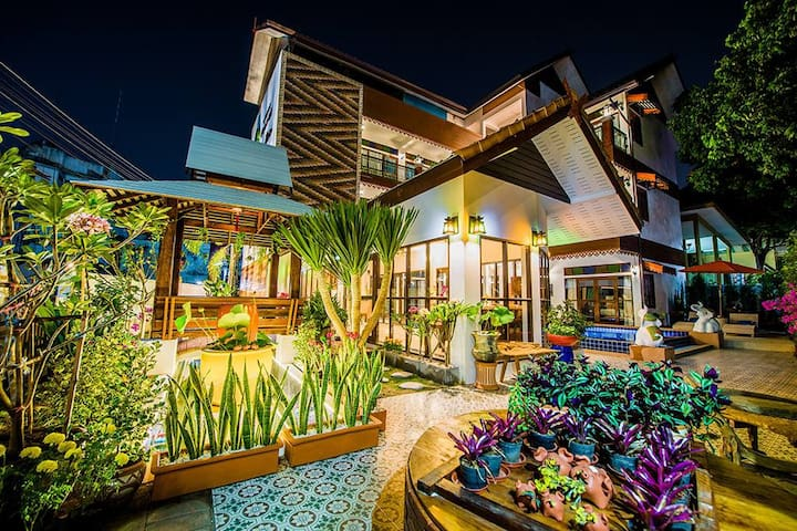 Old Town Boutique House Chiangmai. - Chiang Mai - Pensione