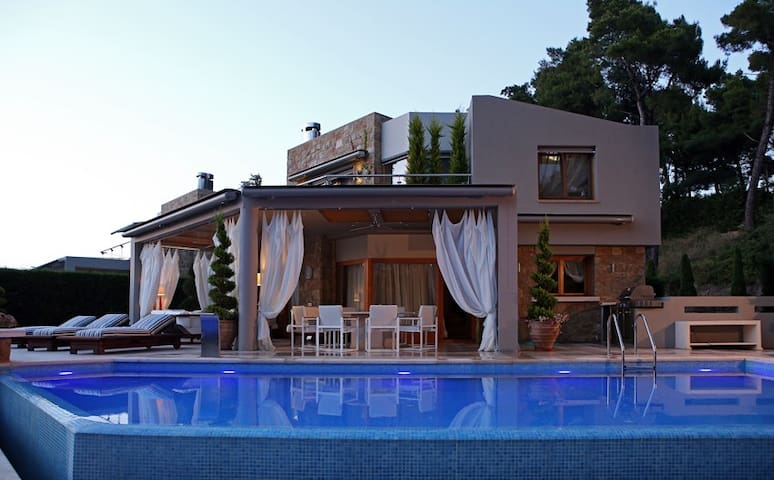 Luxury Villa Sani A - Kymina - Willa