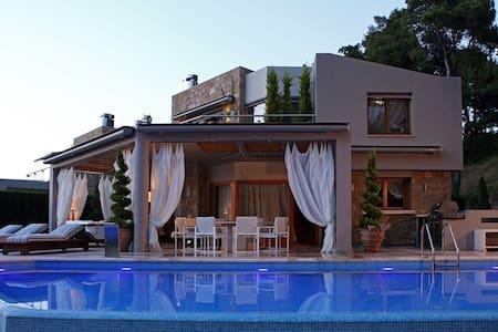 Luxury Villa Sani A - Kymina - Villa