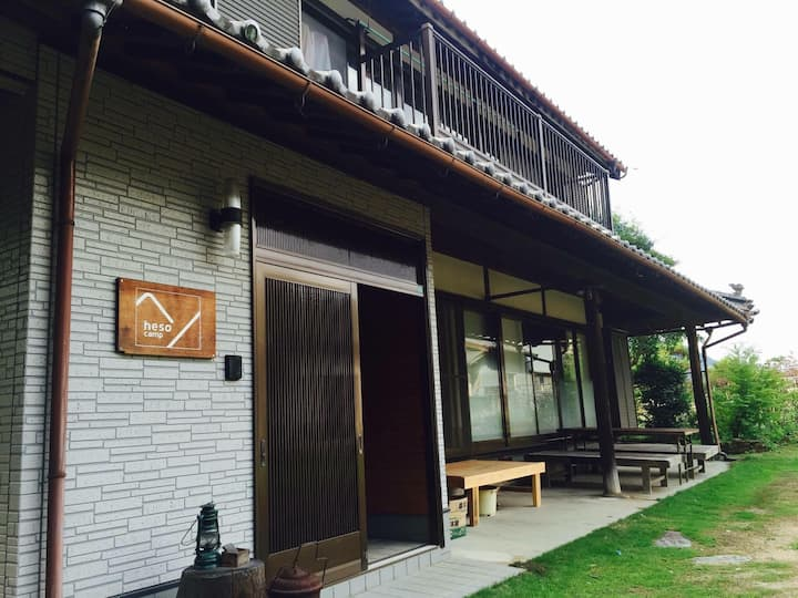 Japanese traditional house / heso camp 2