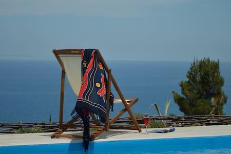 Villa delle Marine, splendida vista mare - Pollina - Villa