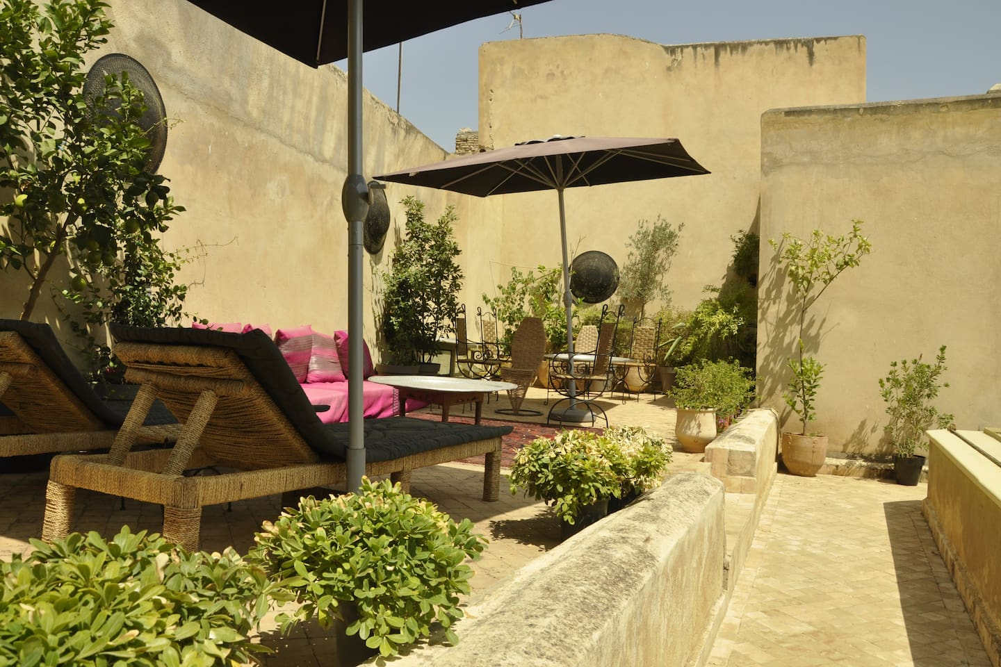 Dar7louyat - the terrace