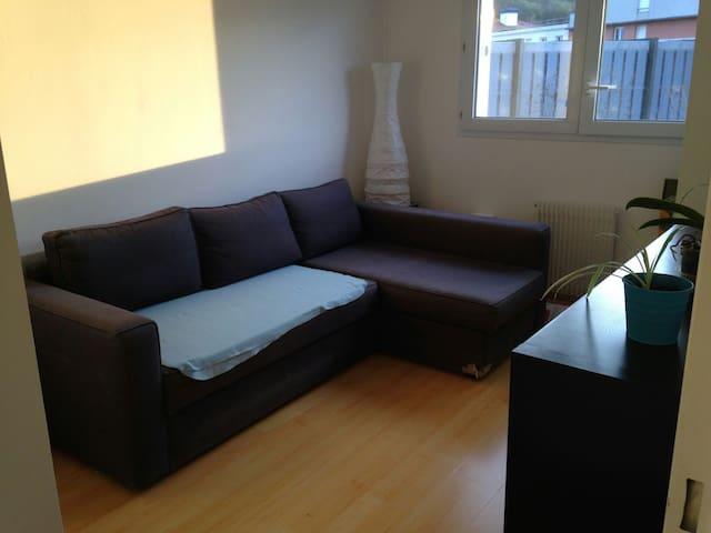Chambre agréable et lumineuse - Élancourt - Apartament