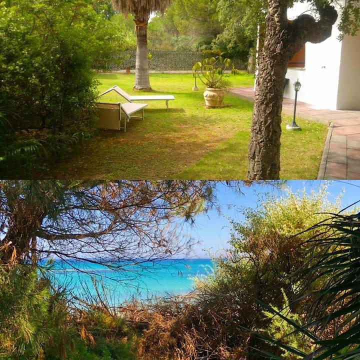 Villa Giorgia in 6 minuti a piedi dal mare