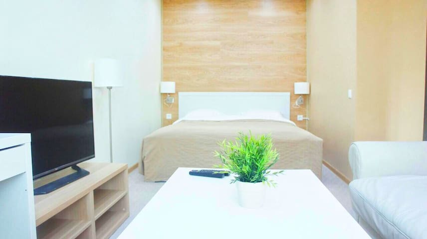1 roomed modern apartment in the center of Astana.