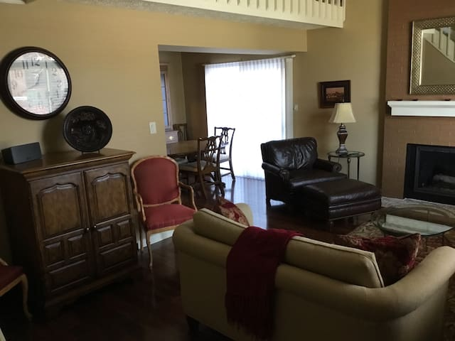 Beautiful two-story downtown condo off Mass Ave