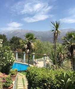 Aculeo Casa de Campo Amplios Jardines Vista