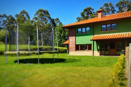 La casa del bosque II en Boquerizo