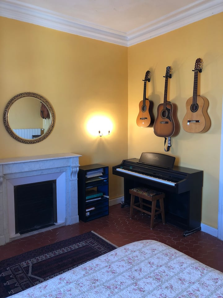 The Music Room - bright and spacious with views