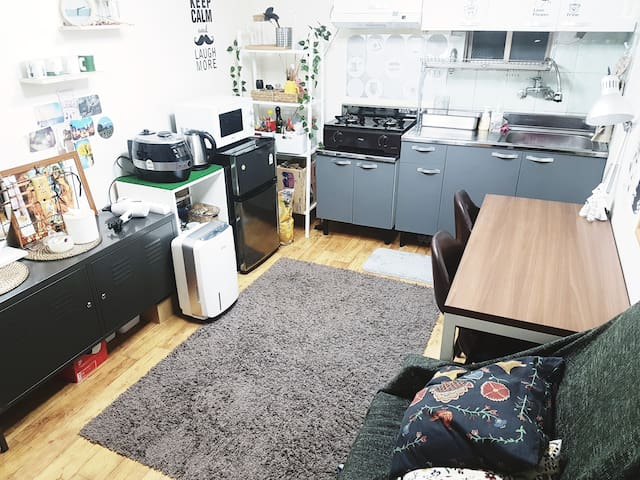 Cool & Cozy House #hongdae#DMC#IncheonAirport
