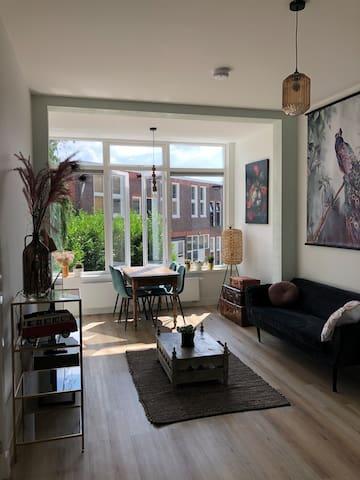 Heerlijk appartement in de Noorderplantsoenbuurt