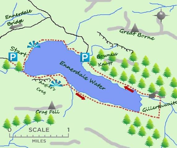 A walk around Ennerdale Water