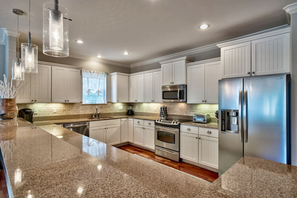 Large, updated Kitchen