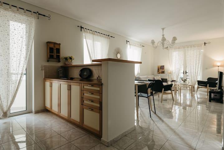 Apartment on the eastern beach of Kalamata