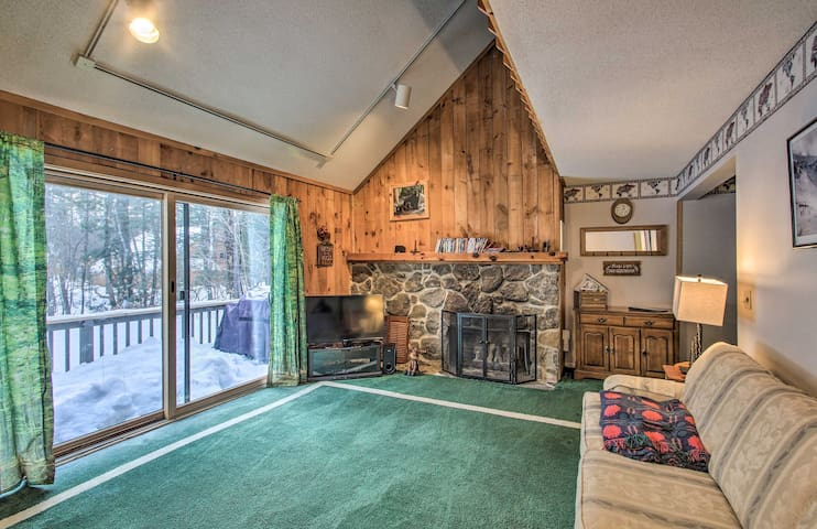 XC Skiing Townhome w/ Private Hot Tub & Sauna!