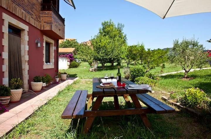 Villa Paquita (Anero). Tranquilidad y naturaleza