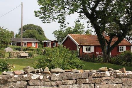 Paradis vid stranden till Kalmarsund - Hammarby - 独立屋