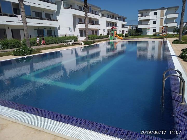 Appartement avec piscine à Mohammedia
