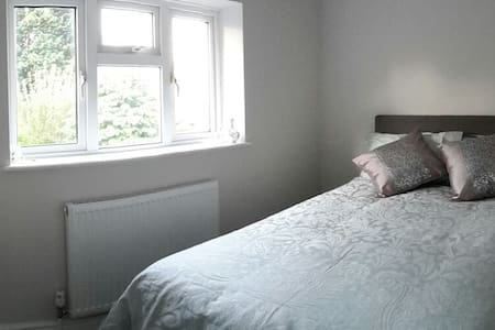 Single bedroom with a double bed - House