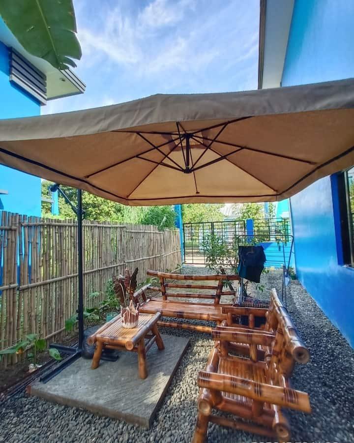 Blue house in Iloilo