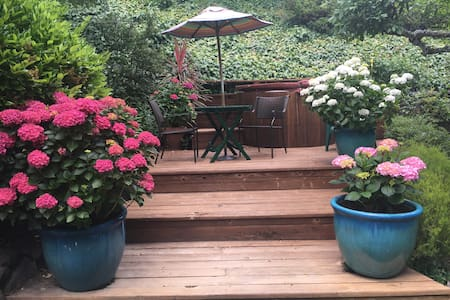 Intimate, cozy garden Studio in Mill Valley - Mill Valley - House