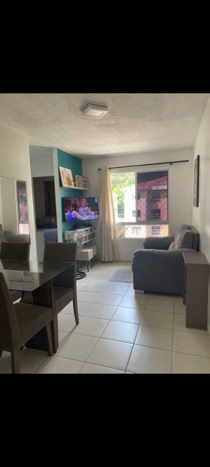 Apartamento próximo ao Hospital Delphina Aziz