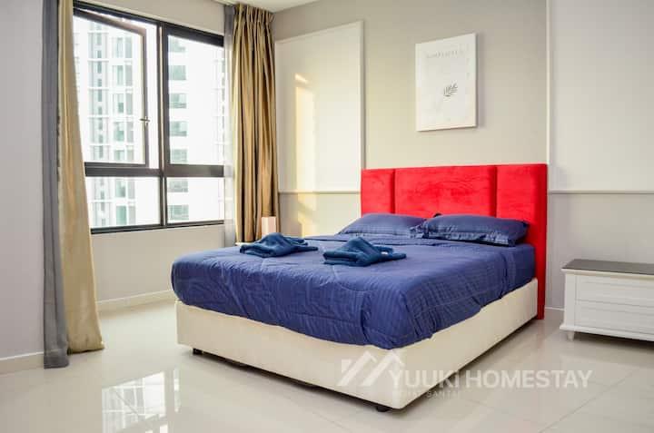 I-city I-soho 1 Bedroom [ Yuuki Homestay ] 030