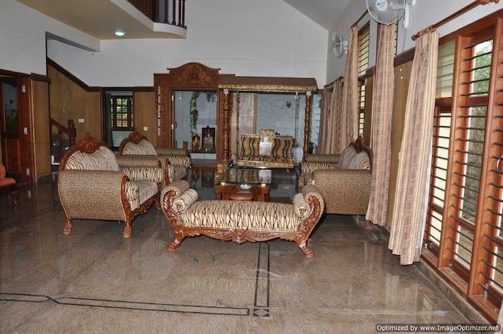 Luxury Villa @ 10 min from Mysore Palace