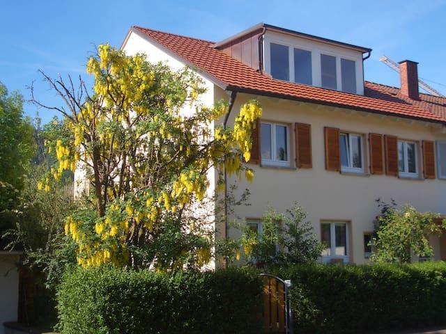 Studio mit Schwarzwaldblick in Freiburg Waldsee