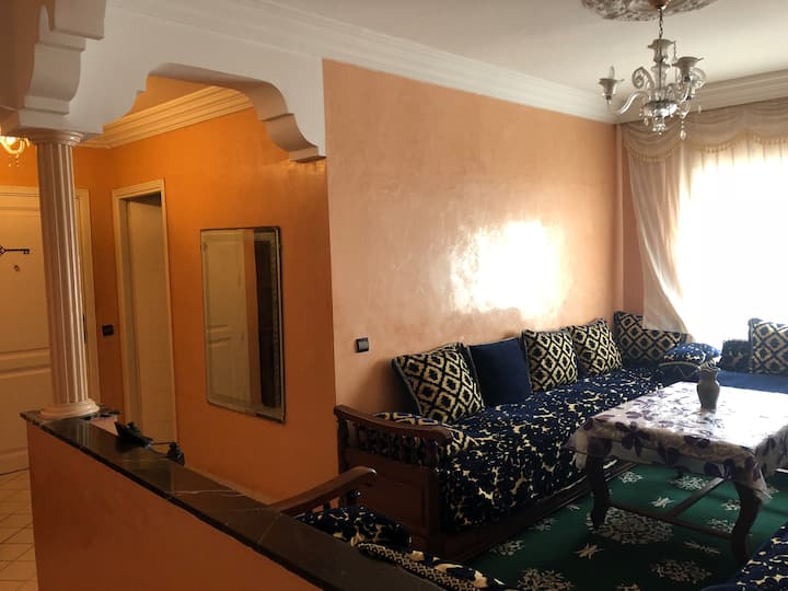 Tipycal Maroccan Apartment in Rabat.