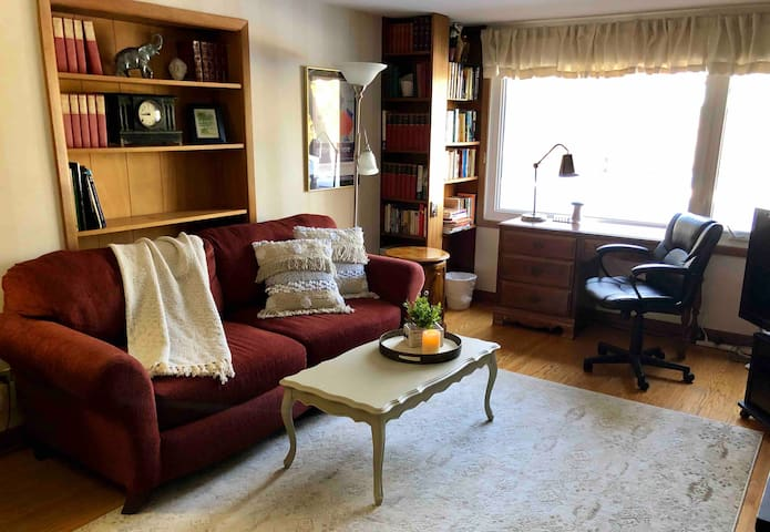 Lovely guest apartment; near hospitals/university