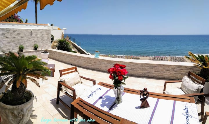BUNGALOW DE LUXE - AMAZING SEA TERRACE