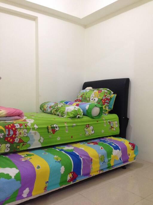 Kamar 2 dengan tempat tidur 2 singel size