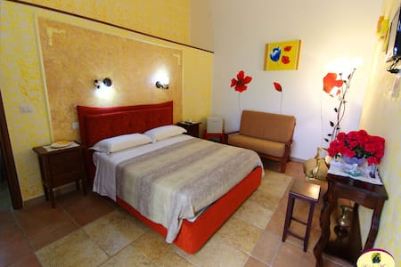 B&B Antiche Macine - Camera matrimoniale - Ruggiano - Bed & Breakfast