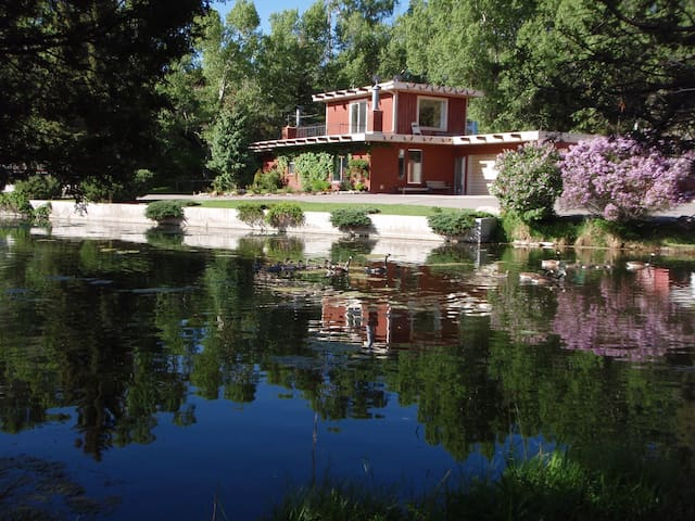 Chalet on the River, just upstream from Salida - Salida - House