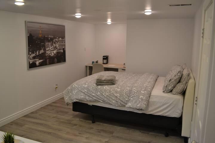 Large Bedroom Just Renovated - Central Etobicoke