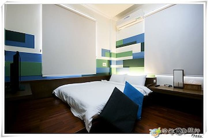 Penghu Beach House Double Room 3 mins to beach - Taiwan Province - Minsu (Taiwan)