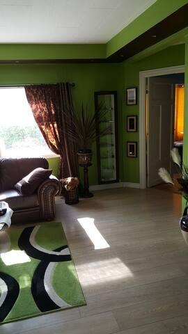 Artistic interior, fine company if required :)