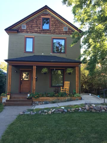 Historic house close to downtown - Missoula - Lejlighed