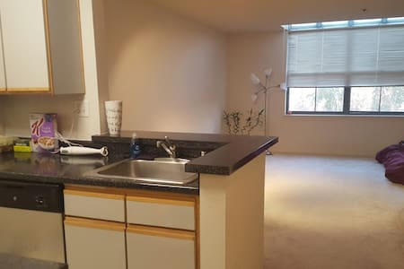 Modern studio in SoMa, 1 block from Embarcadero - San Francisco - Apartamento