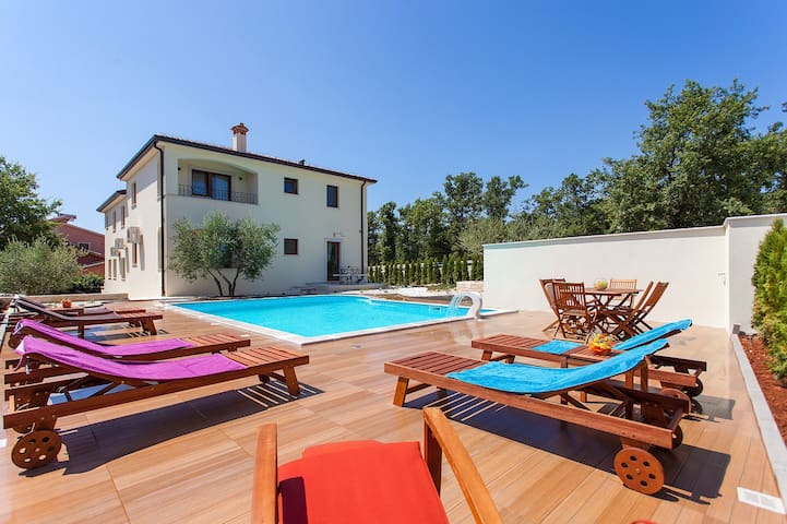 Apartment Birikina nr.3 with pool near Porec