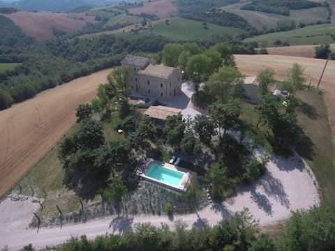 Casa Collinetta, charmantes Landhaus in den Marken