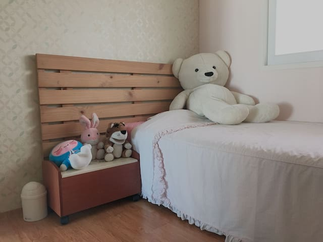 Cozy apartment(near to Busan) Room 1 출장, 가족여행에 추천!