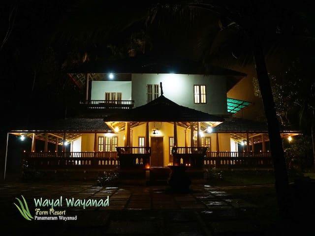 Wayal Wayanad: Heritage villa amidst nature